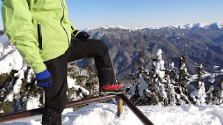 Wearing the Mammut Meridian GTX Boots