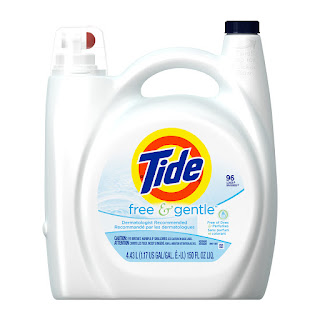 Tide Free and Gentle Laundry Soap — $17.75 (U.P: $35.50)