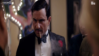 Saif Ali Khan Smoking Wallpaper In Rangoon Film Wallpapers