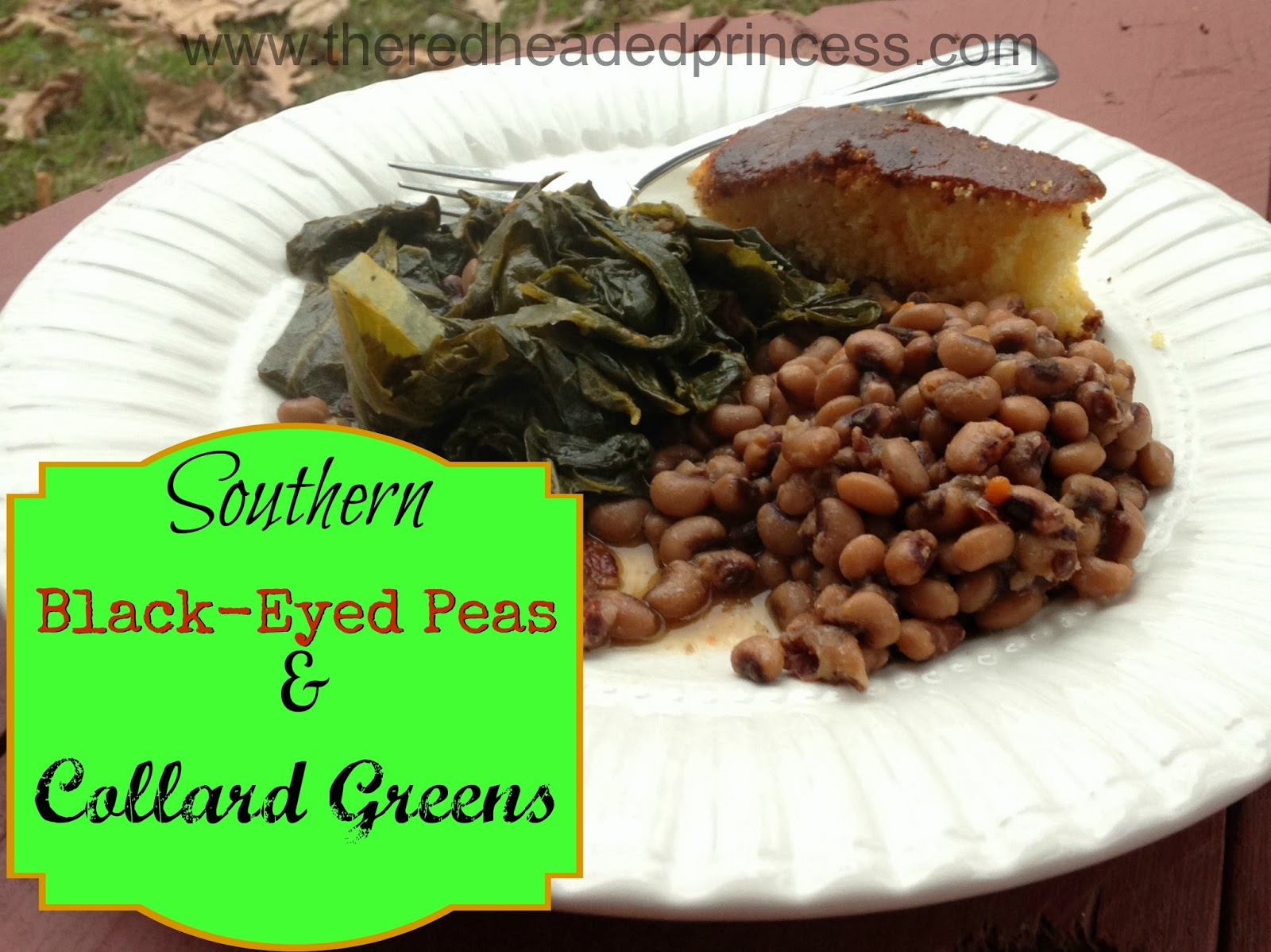 Blackeyed Peas & Collard Greens
