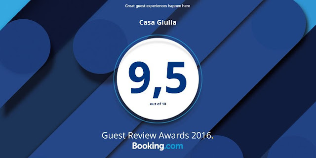 Casa Giulia Guest Review Award 2016