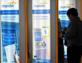 Lokasi ATM Tarik Tunai Bank Mandiri di Kota Bandung - Jawa barat