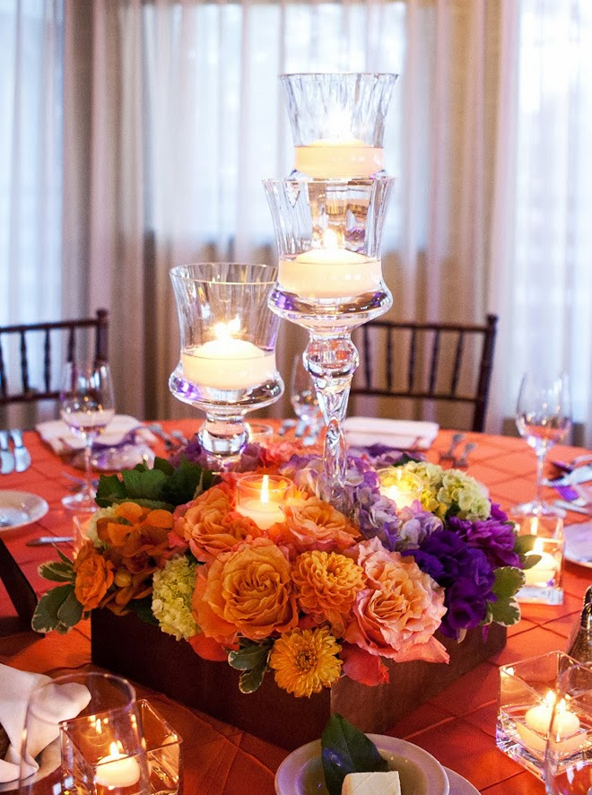 Event Deko 12 Fabulous Centerpieces For Fall Weddings - Belle The