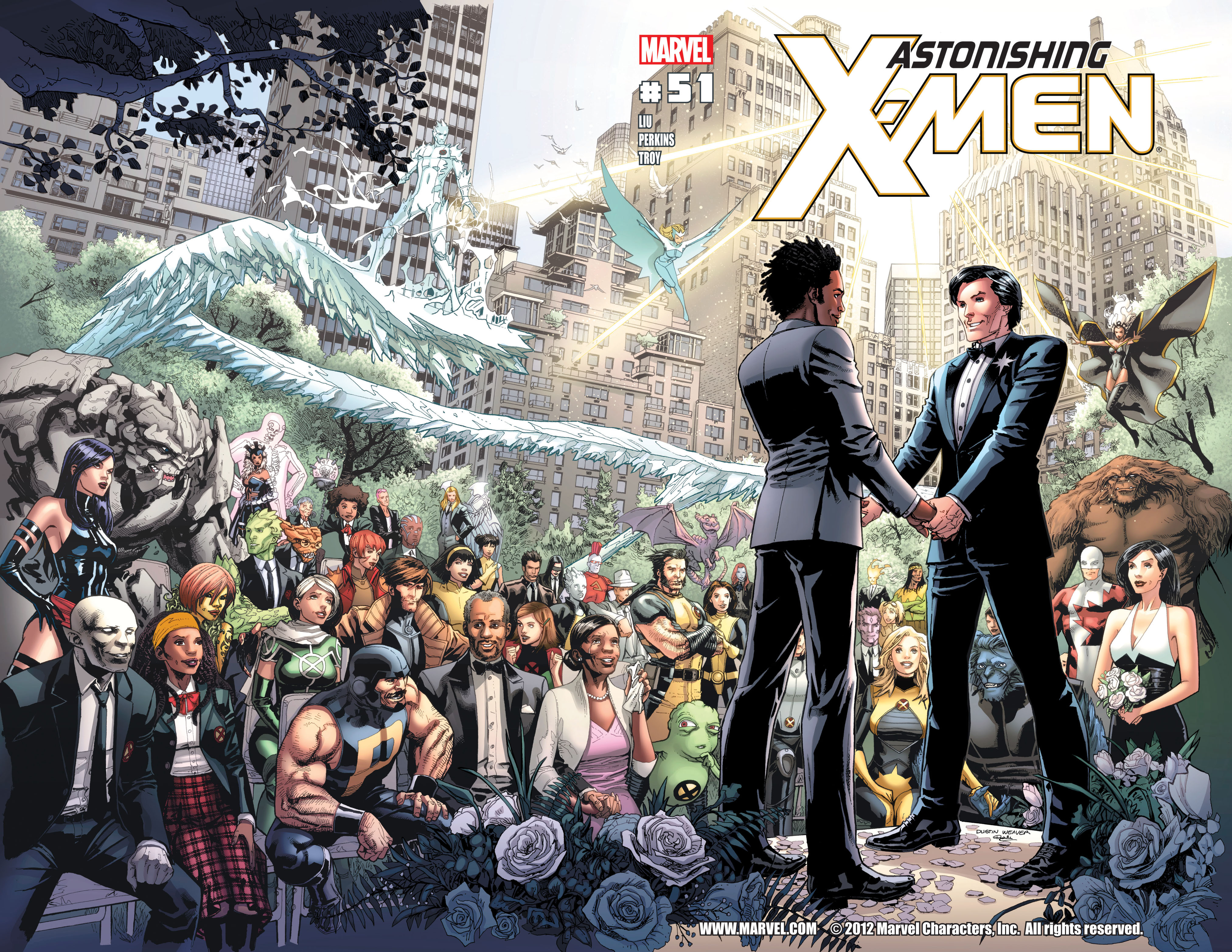 Read online Astonishing X-Men (2004) comic -  Issue #51 - 2
