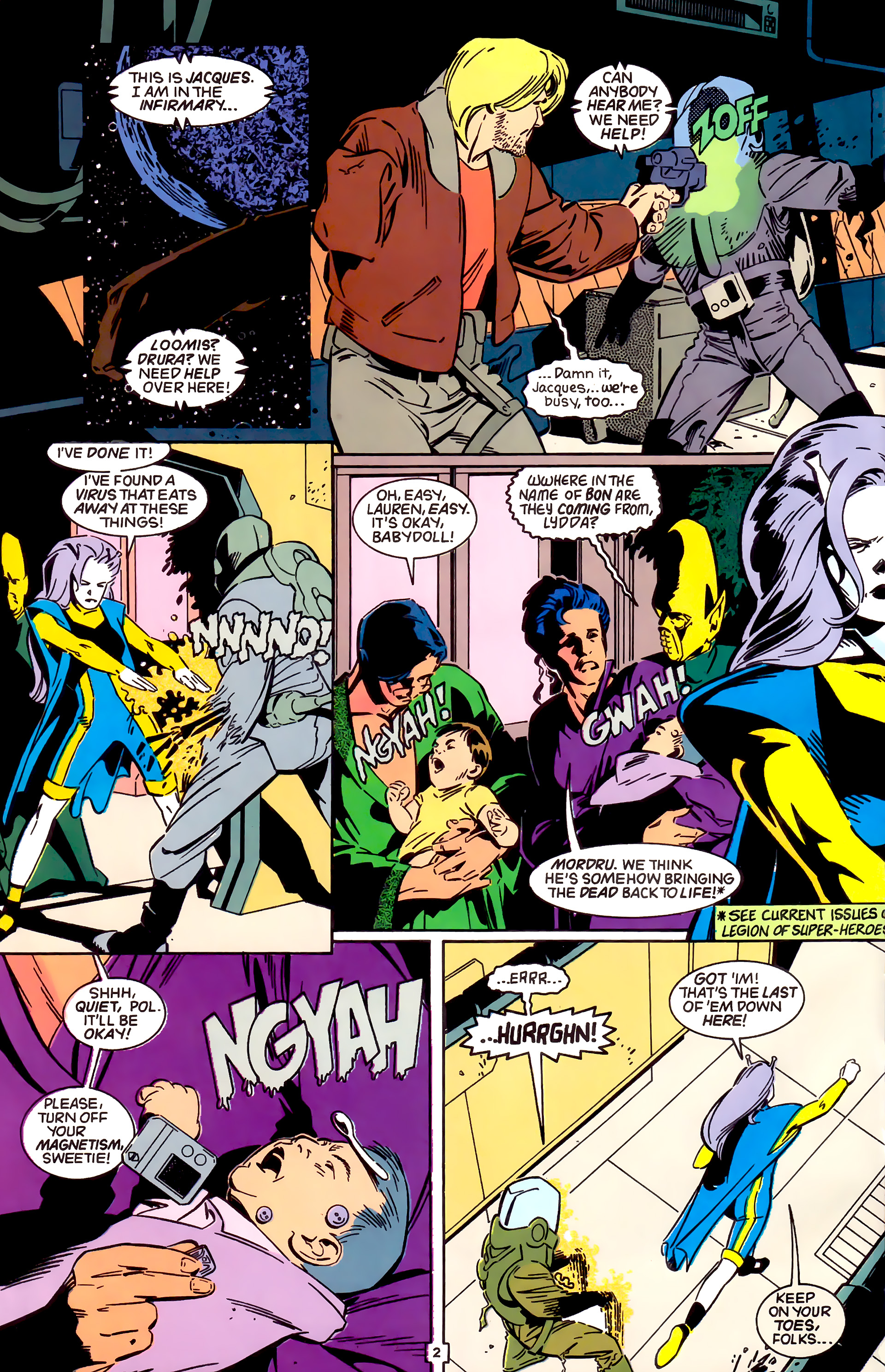 Legion of Super-Heroes (1989) _Annual_4 Page 2