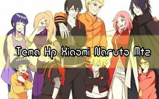 Download Tema Hp Xiaomi Naruto