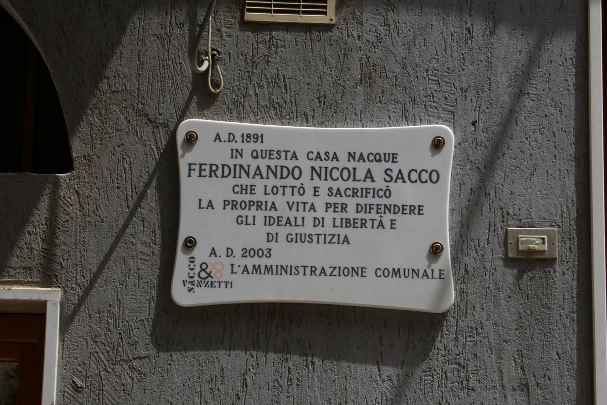 Muerte de Sacco y Vanzetti - Wikipedia, la enciclopedia