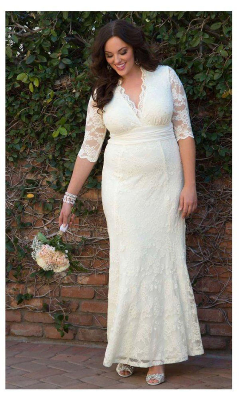 Voluptuous Big Girl Brides Attire   bridal wedding trend