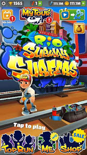 subway surf mod screenshot