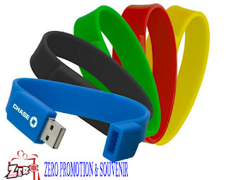 Jual Souvenir USB Flashdisk Gelang Silicone - FDBR01