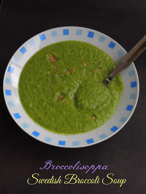 Broccolisoppa, Swedish Soup