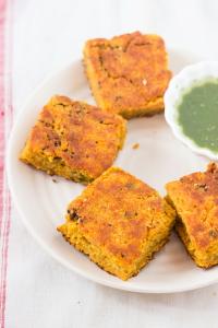 How to make Gujarati Mixed Dal Handvo Recipe at www.oneteaspoonoflife.com