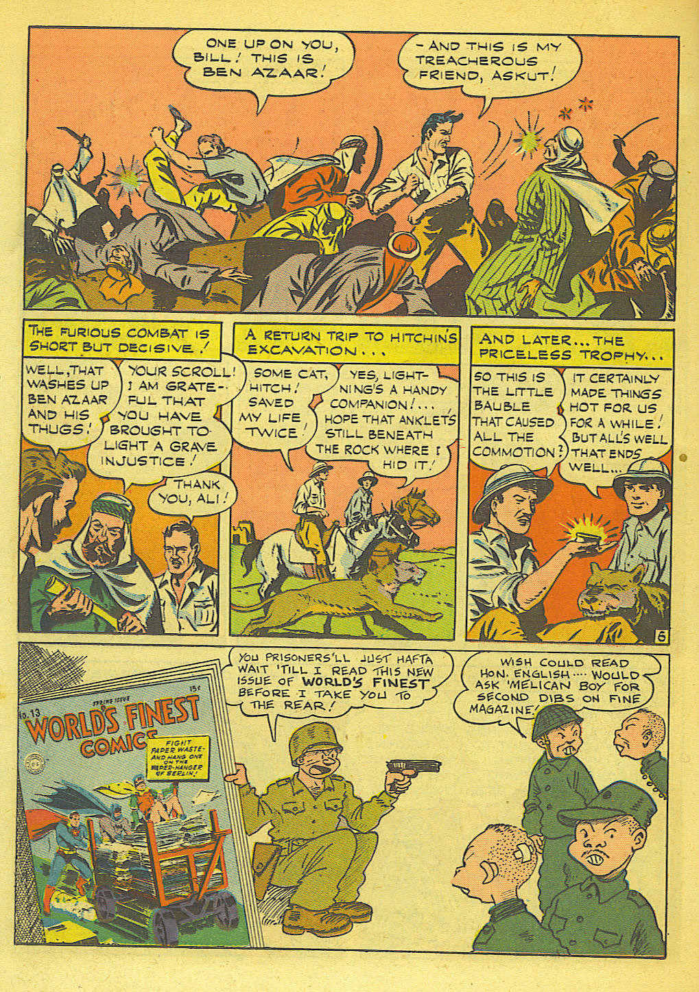 Read online Action Comics (1938) comic -  Issue #71 - 35