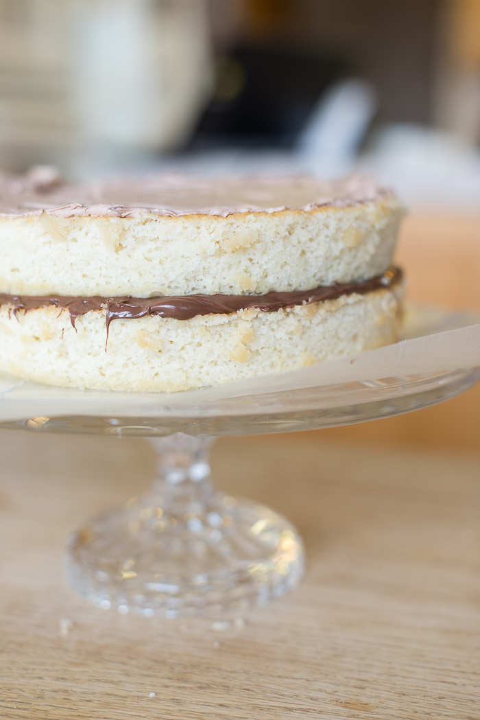 nutella cake