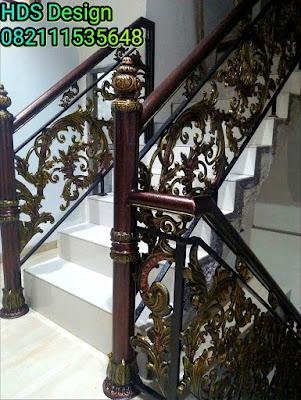railing balkon mewah