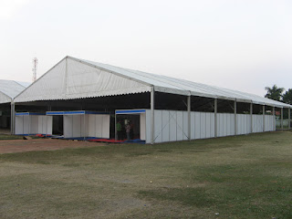 Tenda Hanggar / Roder / Dome