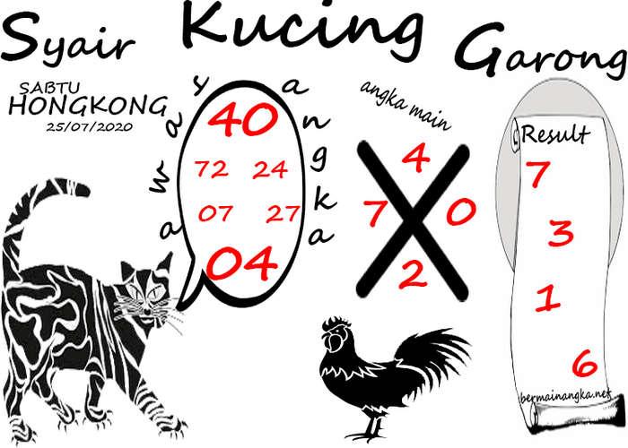 Kode syair Hongkong Sabtu 25 Juli 2020 160