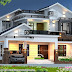 2689 sq-ft mixed roof house rendering