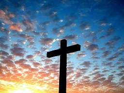 Christ Accepts Whomsoever Will, Especially the Sinner - Rainbow Sky Christian Cross