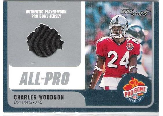 pretty nice 4eecf b1fb8 Erindale S.S: 2000 Pro Bowl Charles Woodson