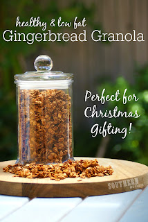 Healthy Gluten Free Gingerbread Granola Recipe