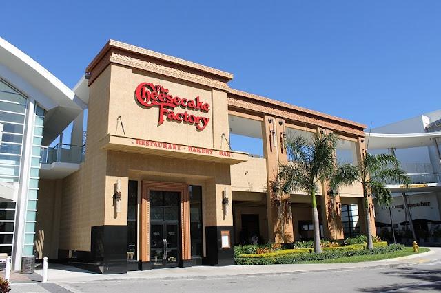 Restaurante Cheesecake Factory em Miami