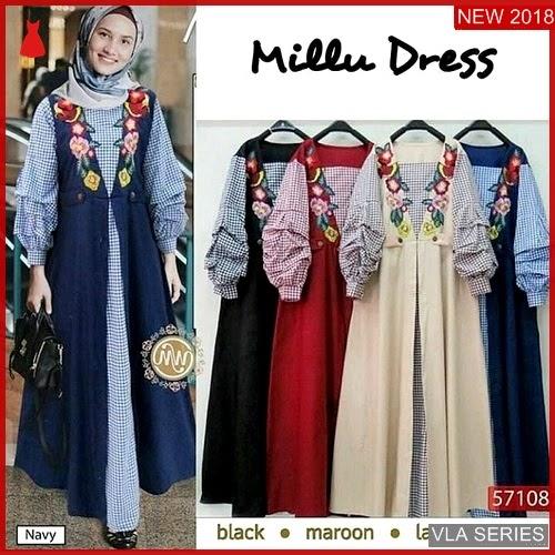 VLA137M137 Model Dress Millu Wd Murah BMGShop