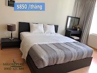 Saigon Pearl Topaz 2 cho thuê 86m2 | giường ngủ đôi