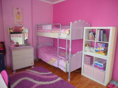 Bricolage e decora o 9 ideias para decorar quarto de menina - Chambre de petite fille de 8 ans ...
