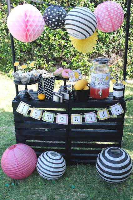 Easy Lemonade Stand Ideas Summer Fun Laura S Little Party