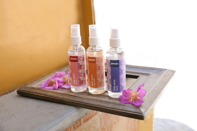 Set of 3 Body Sprays- Jasmine, Wild Lily, Warm Amber Rs. 390 (each)