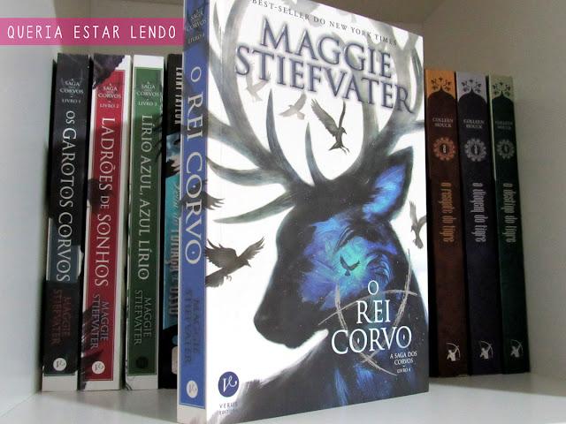 Li até a página 100 e... #23 - O Rei Corvo