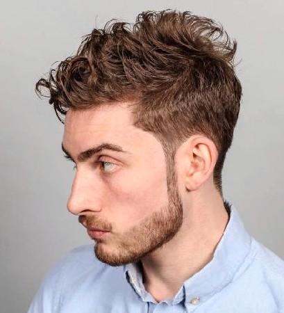 model rambut ikal pria 2018