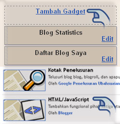 Cara buat Drop Down menu Massive Blue