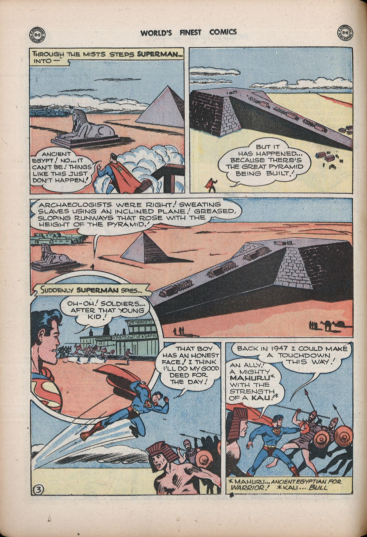 Read online World's Finest Comics comic -  Issue #32 - 62