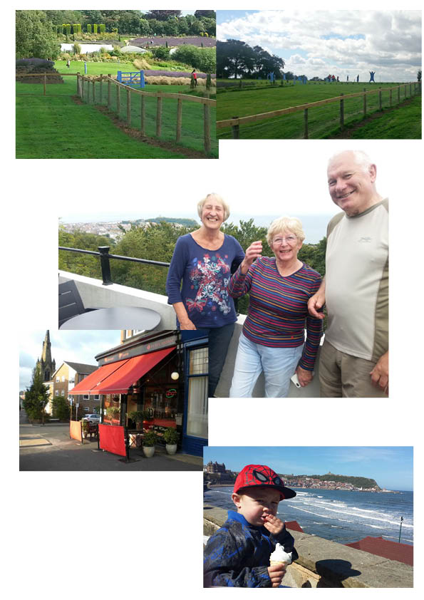 A series of senior moments in an otherwise fun weekend. Cricket was dire, the food mostly good and the weather held up