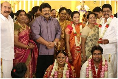 Tamil superstars in Maalica Ravikumar wedding