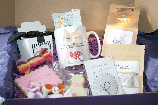 MyPurrfect Gift Box - September Tea Box