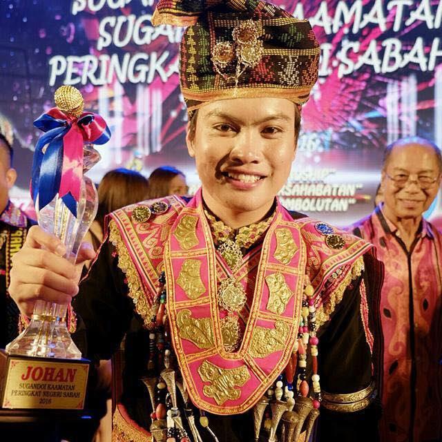 Fanzi Ruji Pemenang Sugandoi Kaamatan 2016