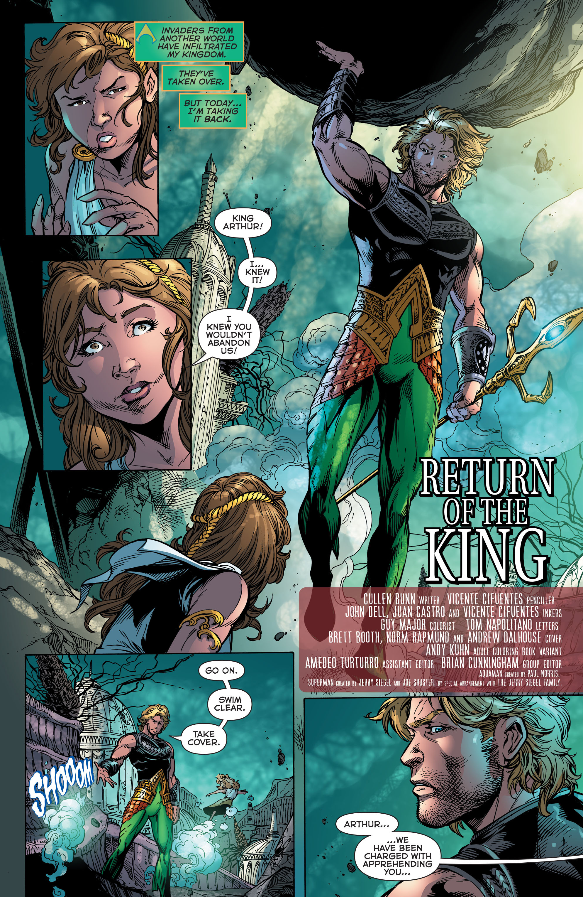 Read online Aquaman (2011) comic -  Issue #48 - 6