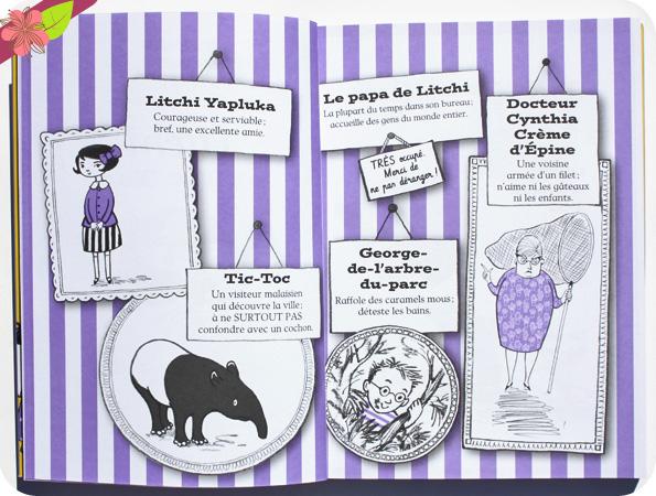 Litchi et Tic-toc - Drôle de rencontre de Polly Faber et Clara Vulliamy - Hachette romans