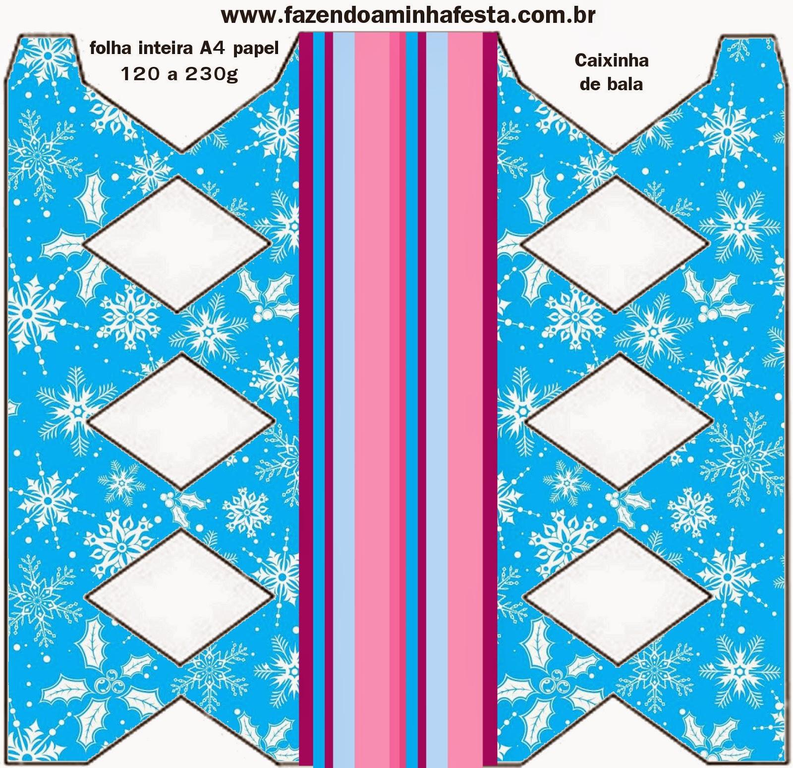 Imprimibles gratis para fiestas de Frozen en Morado y Celeste para Navidad.