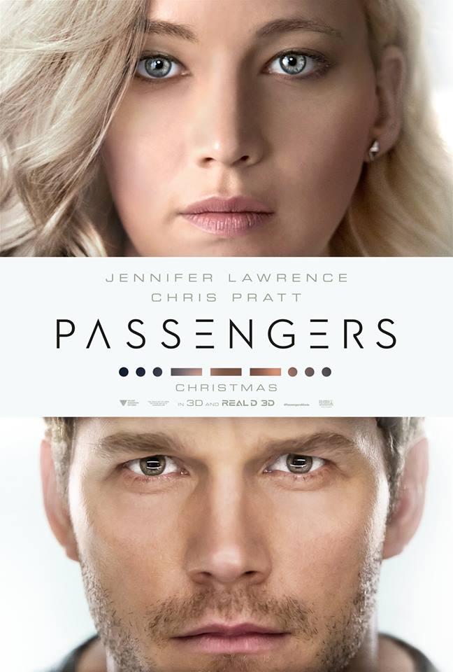 Póster de 'Passengers' con Jennifer Lawrence y Chris Pratt