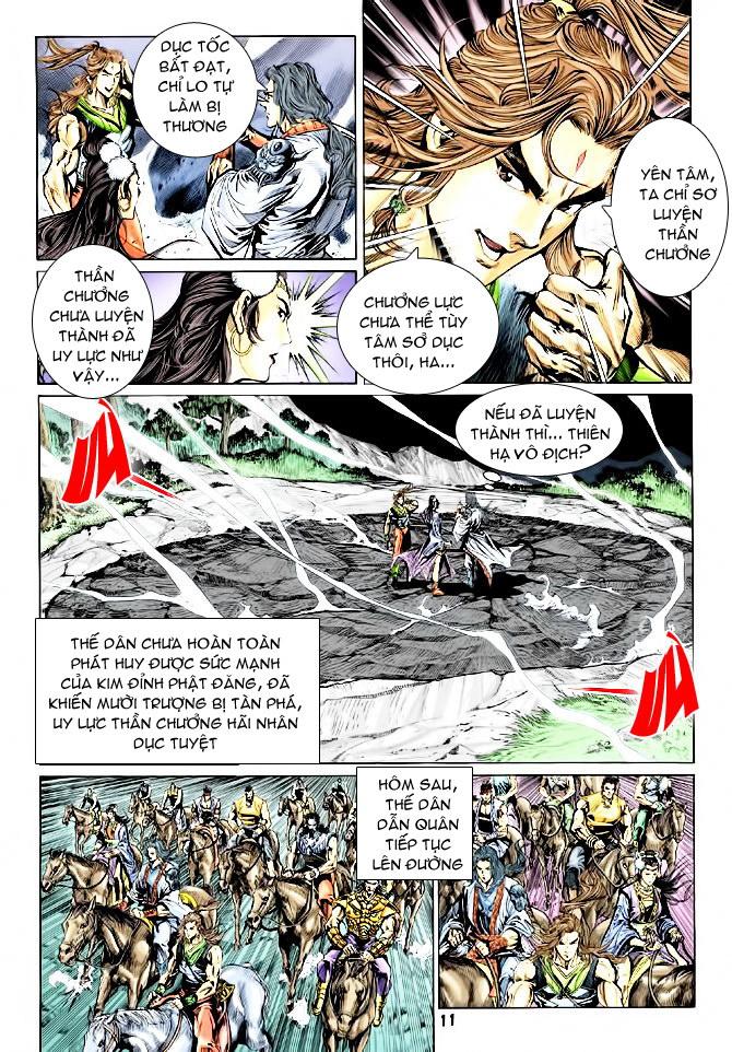 Đại Đường Uy Long chapter 44 trang 11