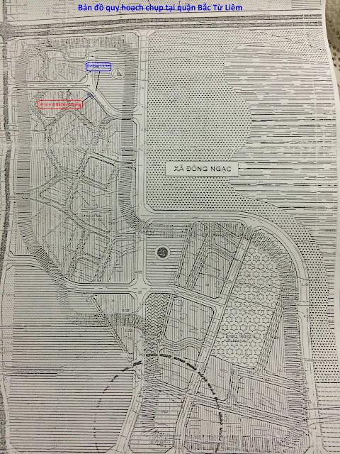Quy hoạch của Quận Bắc Từ Liêm 13,5m ra mặt đường chính của nhà thổ cư phường Đức Thắng giá rẻ