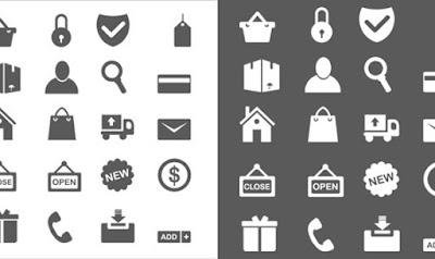 iconos para diseño ecommerce