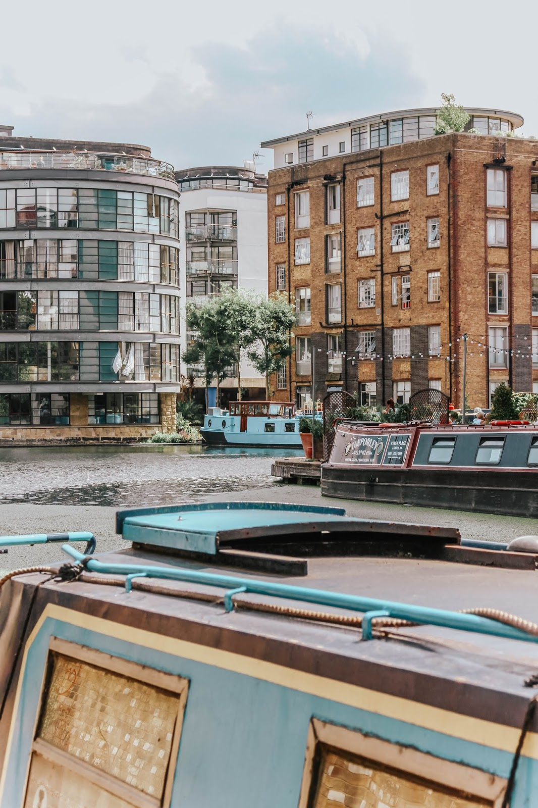 London Regent's Canal Barges Travel Blog Review