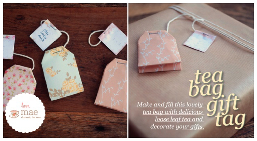 One Lump Or Two DIY Teabag Wedding Favours