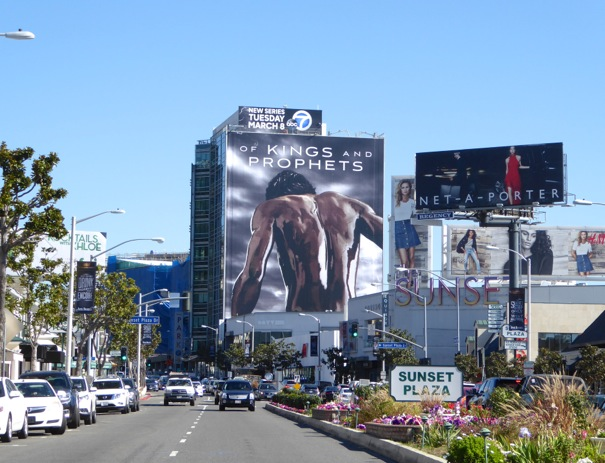 Giant Of Kings and Prophets series billboard