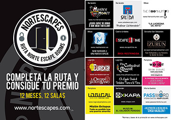 Ruta de Escape Room: Nortescapes Zona Norte